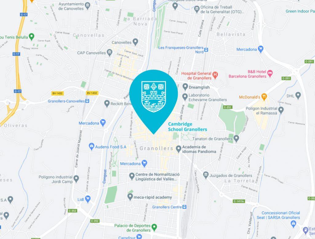 Cursos-ingles-online- Cambridge-school-mapa1